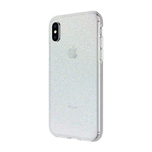Incipio Design Series Case for Apple iPhone X - Iridescent White Glitter