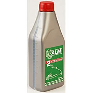 41UD1cOeoGL. SS300  - ALM 2 Stroke Oil 1 Litre For Lawnmower Chainsaw Strimmer Motorbike OL202
