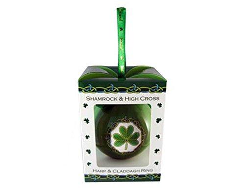 Royal Tara Symbols of Ireland Christmas Bauble Ornament ()