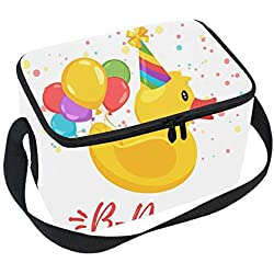 Classic Greeting Card Template Lunch Bag - Easy to Carry to School, Office, Picnic