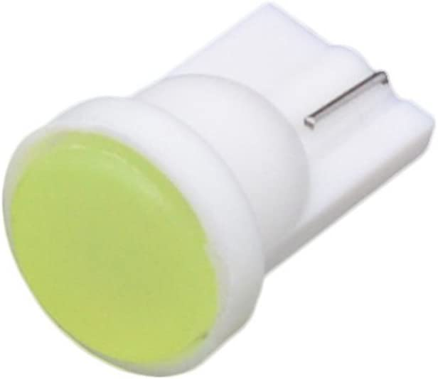 KATUR 10pcs T10 168 194 175 2825 W5W Amber COB LED Bulbs Instrument Cluster Signal Lights Interior Corner Side Marker Dashboard Light Bulbs