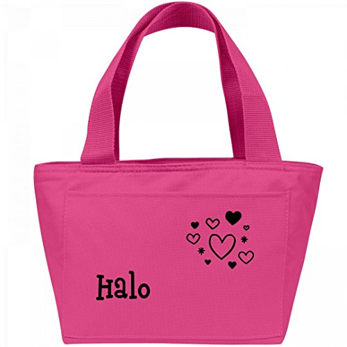 Lunchbox Hearts for Halo: Liberty Bags Recycled Cooler Lunch Box Bag