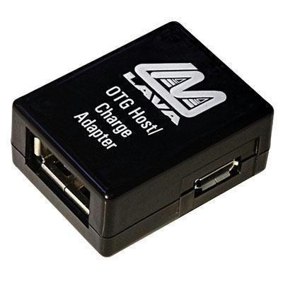 LAVA SimulCharge USB 1-port Adapter for Samsung Galaxy Tab 4/S/PRO/Note - Model TL-002 (Micro USB OTG Host & - Samsung Otg Tab