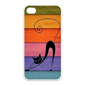 CAT Fashion Design Cover Skin for Iphone 4 4S Kimberly Kurzendoerfer