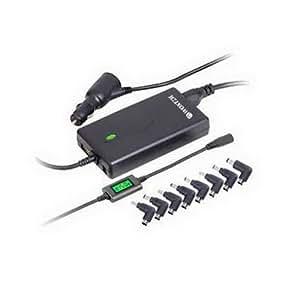 Woxter PE26-055 - Cargador automático para portátiles con pantalla LED, 90 V