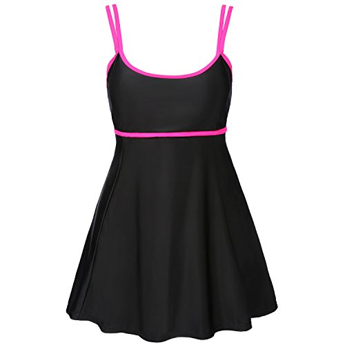- Women's Two Pieces Swimsuits Plus Size Swimdress Cover up Bathing Suits with Boyshorts Bottoms Tankini Set Swimwear XL-4XL