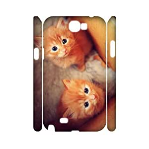 Cats DIY 3D Cover Case for Samsung Galaxy Note 2 N7100,personalized phone case ygtg-305635