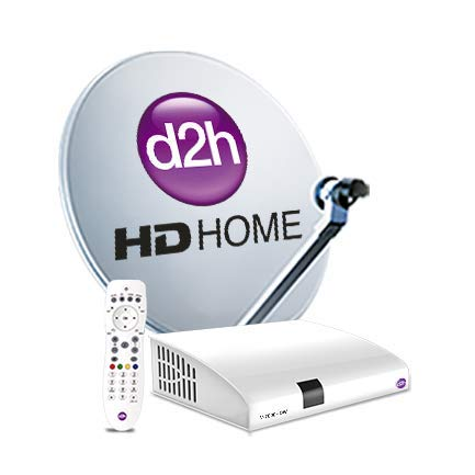 Videocon D2H HD RF Set Top Box with 1 Month Free Gold HD Pack