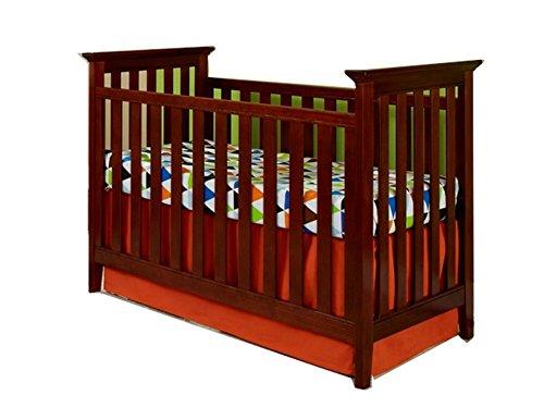 Imagio Baby Summit Park 3 in 1 Cottage Mission Crib, Virginia Cherry