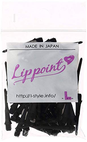 L-Style Lippoint Bag of Dart Tips Extra Strong and Durable - Black