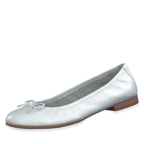Leath 20 Femmes White white Blanc 127 Tamaris 1 Escarp 22116 ns Leath 1 Rdt0P