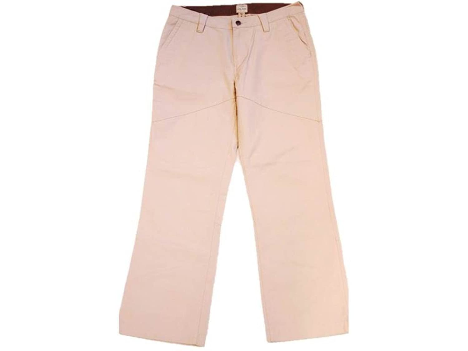 C. C Filson Women's Seattle Relaxed Pants, Light Beige, 8