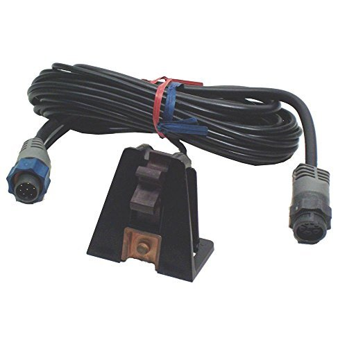 LOWRANCE ST-TBL Speed/temp probe, MFG# 000-0099-97, Transom mount. Includes 25' cable with Blue connector and pigtail for depth transducer. / LOW-000-0099-97 / (Probe Lowrance)