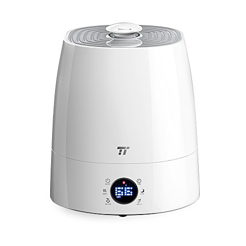 Warm Cool Mist Humidifier Taotronics Ultrasonic Humidifiers For Bedroom Led Display