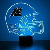 Mirror Magic Light Up LED Lamp - Football Helmet