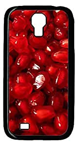 Saeed Pomegranate Hard Cover Back Case For Samsung Galaxy S4,Soft TPU Back Case Cover for Samsung Galaxy S4 i9500