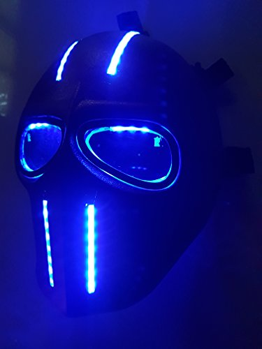 Invader King Cable Army of Two Airsoft Mask Protective Gear Outdoor Sport Fancy Party Ghost Masks Bb Gun]()