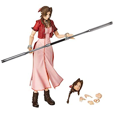 Square Enix Crisis Core Final Fantasy VII: Aerith Play Arts Kai Action Figure: Toys & Games