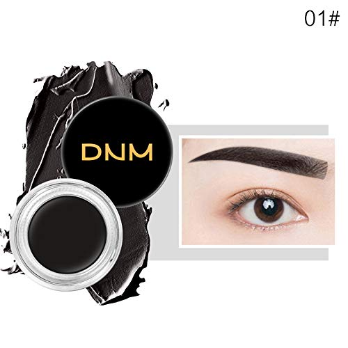 (11-Color Waterproof Sweatproof Eyebrow Cream Natural Long-Lasting Permanent Modification Eyebrow Shading Eyebrow Cream 01)