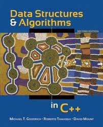 Data Structures and Algorithms in C++ 2nd (second) edition by