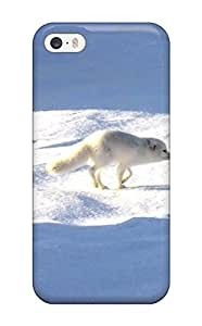 Premium Arctic Foxes Back Cover Snap On Case For Iphone 5/5s
