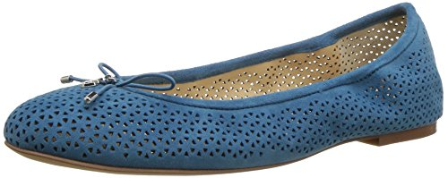 Sam Edelman Women's Felicia 2, Pacific Blue Perforated Suede, 7.5 M US by Sam Edelman