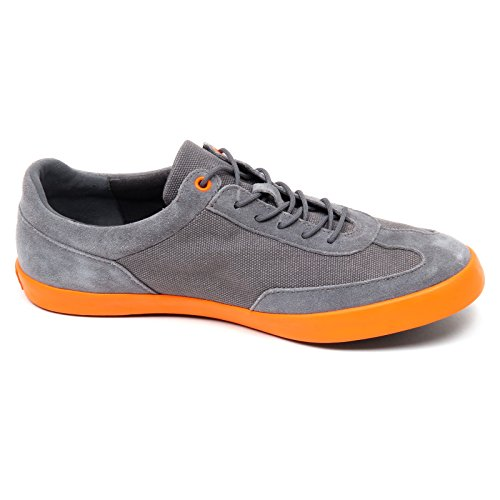 Camper D4712 Scarpa Uomo Without Box Tissue/Suede Grey Shoe Men [42]