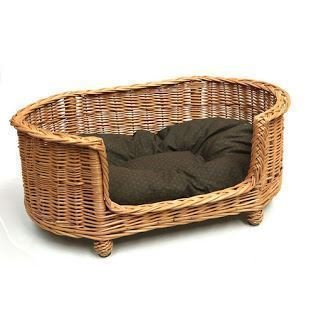 Oval Pet Carrier - Luxury Oval Dog Pet Settee Large