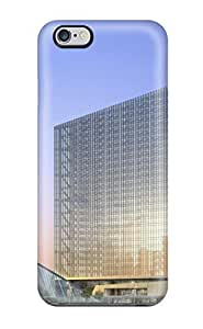 Amberlyn Bradshaw Farley's Shop Iphone 6 Plus Hard Back With Bumper Silicone Gel Tpu Case Cover Futuristic 3d Offices Normal