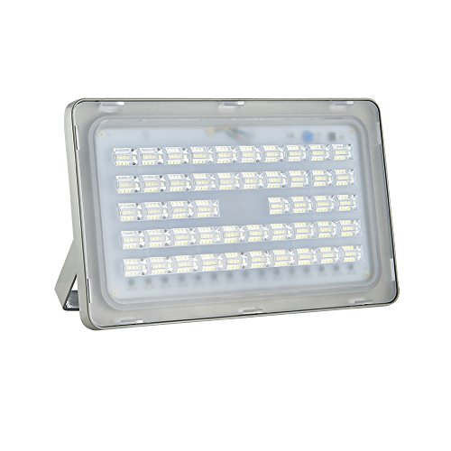 6TH Generation 110V Flood Lamp LED Flood Light Outdoor Super Bright Waterproof SpotLight Wall Lamp (150W, Cold White) Review