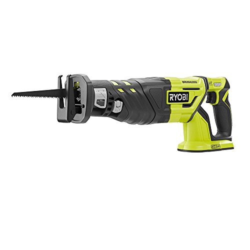 RYOBI 18-Volt ONE+ Cordless Brushless Reciprocating Saw (Tool Only) with Blade Certified Reconditioned