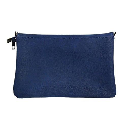 Shopping-et-Mode, Poschette giorno donna Blu Blu navy