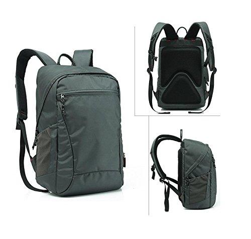 YYY-Un nuevo día mochila para hombres y mujeres al aire libre deportes Camping escalada 44 * 29 * 17 cm , gray , 21 inch gray