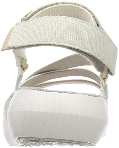 Tri Donna Cinturino Sienna Combi White Sandali Clarks Bianco Caviglia con alla awZqZd