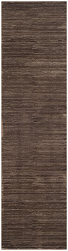 "Safavieh Vision Collection VSN606E Modern Contemporary Ombre Tonal Chic Runner, 2' 2"" x 6', Brown - Tone-on-tone colors give these rugs a clean contemporary vibe Versatile enough to decorate the bedroom, dining room, living room, foyer, or home office Refined power-loomed construction and enhanced polypropylene fibers ensure an easy-care and virtually non-shedding rug - runner-rugs, entryway-furniture-decor, entryway-laundry-room - 41UD9opL56L -"