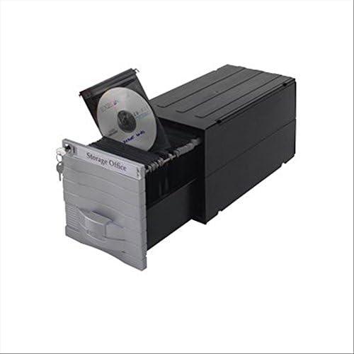 Exponent 34600 - Caja para Guardar CD y DVD (hasta 160), Color ...