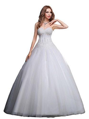 SZIVYSHI Summer New Fashion Was Fine Lace Wedding Bride's Wedding Dress by SZIVYSHI (Image #3)