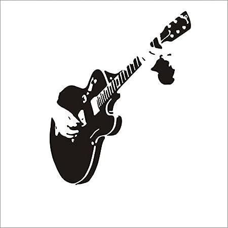 Dosige 1 Piezas Decoración de la Guitarra Dibujo Sala de Estar ...