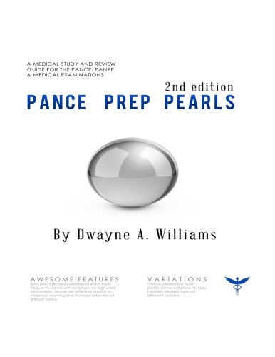 Pance Prep Pearls 2nd Edition