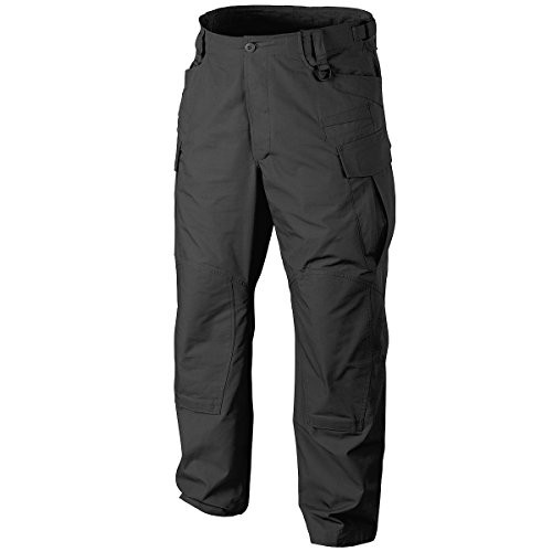 Helikon SFU NEXT Men's Trousers PolyCotton Twill Black size L Reg (Cotton Twill Trouser)