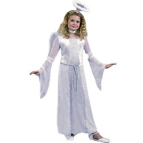 FunWorld 126345 Heavenly Angel White Child Costume