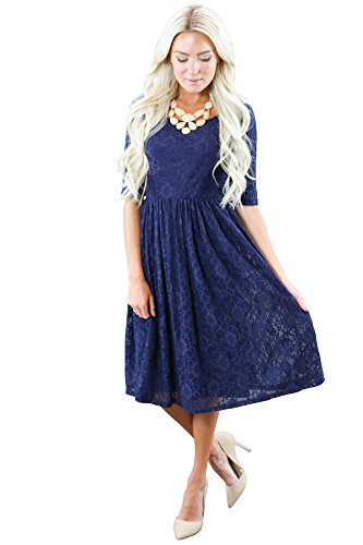 accessorize a blue dress - 1