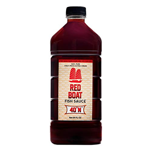 Red Boat Fish Sauce 40N, 64 oz