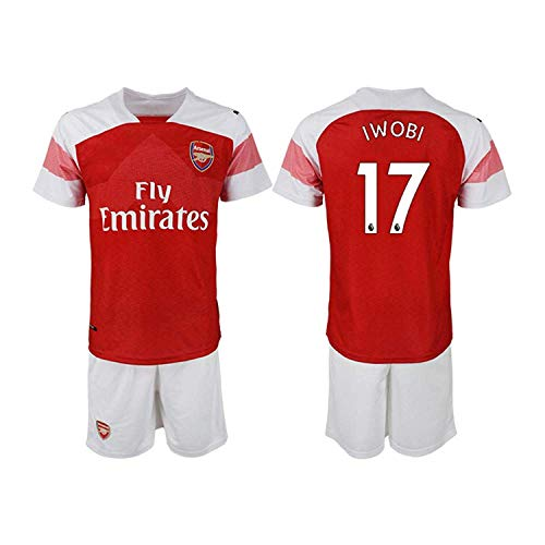 COCOBE Viscustom The New Arsenal Iwobi Men's Soccer Jersey L
