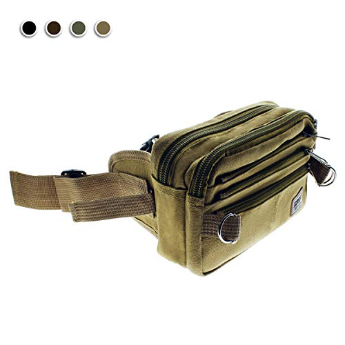 21240ed0f99f SHOPUS | Fanny Pack Bag for Men and Women, Money Belt Bags, Canvas ...