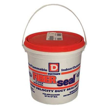 Duct Sealant, 19 g/L, 1 gal, Gray