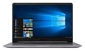 "Asus VivoBook S15, 15,6"", Ultrabook dizüstü bilgisayar, Intel Core i7-8550U, 16G Bellek , 256 GB SSD, NVIDIA GeForce MX150 - 2GB GDDR5, Windows 10, Metalik Gri"