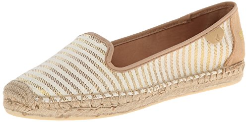 Shoe gold Sand amp; Women's sider ons Slip Loafers Coco Top Sperry w67H8qW