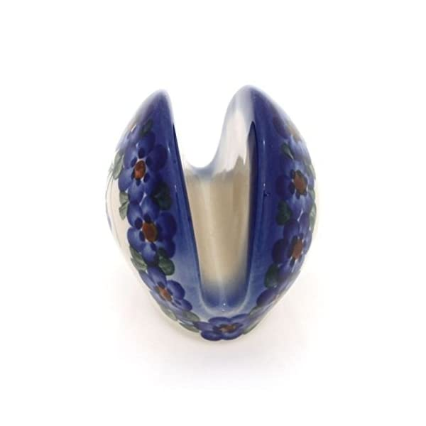 BCV Classic Boleslawiec Pottery Hand Painted Ceramic Napkin / Serviette Holder 509 (U-001)