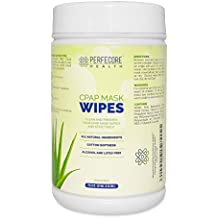 Perfecore Health CPAP Mask Unscented Wet Wipes – CPAP Cleaner and Sanitizer Wipes, 72 Pack, Single